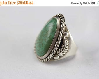 Summer Vintage Ring Pawn Silver & Turquoise Southwest Native American Jewelry