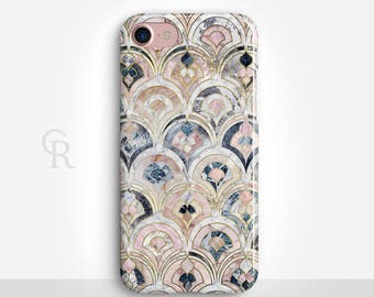 Art Deco Marble iPhone 8 Case For iPhone 8 iPhone 8 Plus - iPhone X - iPhone 7 Plus - iPhone 6 - iPhone 6S - iPhone SE - Samsung S8 iPhone 5