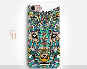 Wolf Phone Case For iPhone 8 iPhone 8 Plus iPhone X Phone 7 Plus iPhone 6 iPhone 6S  iPhone SE Samsung S8 iPhone 5 Animal Samsung S7 Edge