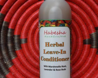 Herabal Leave In Conditioner. Aloe Vera Leave-In Conditioner. Loc & Natural Hair Conditioning Spray.
