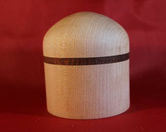 Birch and lacewood container