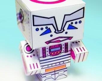 Robot. Manic Robot - Card Kit