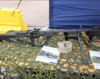 Poster, Many Sizes Available; 7,62 Kvkk 62 Machine Gun Helsinki 2012 1