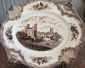 Vtg Johnson Bros England  Britain Castles