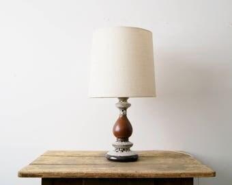 Table Lamp Ceramic, Fat Lava Lamp, Large Table Lamp, 70s Lamp, Table