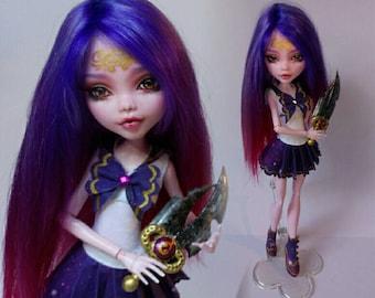 Monster high repaint, Cancer zodiac doll
