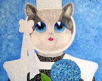 "Breton cat ""Enora"""