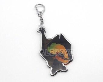 """3"""" Fruit Bat . Mega Bat . Hanging Keychain . Bat with Fruit ."""