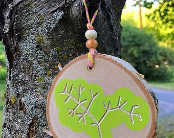 Darwin's Tree of Life - Handmade Wooden Wall Ornament