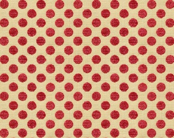 KRAVET LEE JOFA Kate Spade Dots Fabric 10 Yards Lipstick