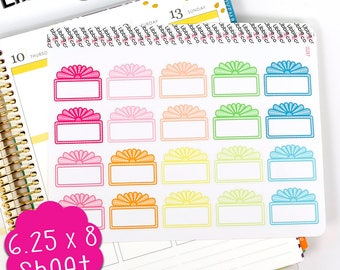 LS287 Summer Movie Marquee stickers.  Set of 20 perfect for the Erin Condren Planner!!!