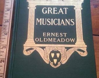 Great Musicians, 1907 book