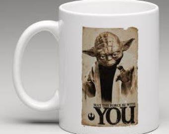 Yoda star wars mug