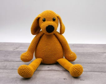 Crochet pattern : Toutou the dog