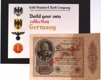 1923 Germany HYPER INFLATION 1.000.000.000 / 1 Billion Mark Banknote UNCIRCULATED