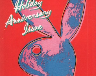 MATURE - Playboy Trading Card January Edt. 1986 - Cover - Rabbit (by Andy Warhol) - Card #97