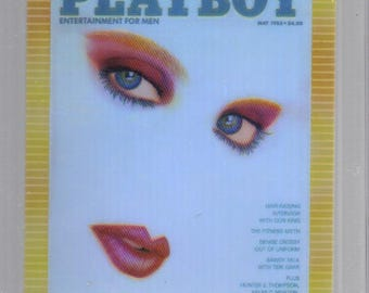 MATURE - Playboy Trading Card Chromium Cover Cards - Refractor Insert #R79 May 1988