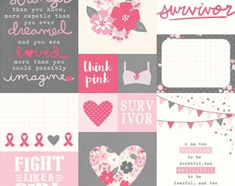 Simple Stories Hello Lovely 3x4 & 4x6 Journaling cards
