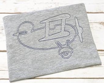 Vintage Airplane Shirt, boys vintage shirt