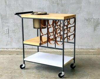 Arthur Umanoff Bar-Cart.