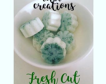 Fresh Cut Grass: Soy wax Melts