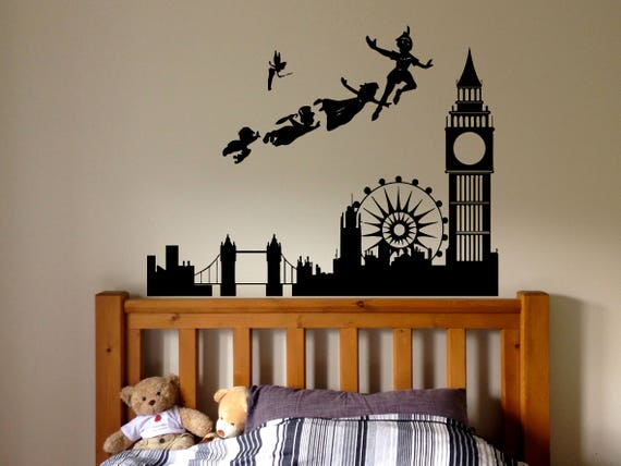 ... Peter Pan London Wall Decal By RoomDecalsAndDesigns