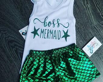 Boss Mermaid Set