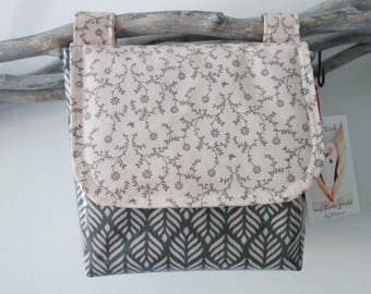 waterproof handlebar bag from AU Maison oilcloth