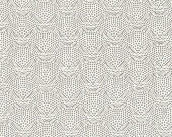 Au maison oilcloth alba grey Grey fan ornament