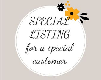 special listing for Stacie B.