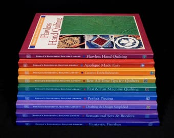 Rodale's Successful Quilting Library 9 Volume Set Over 1,000 Pages of Quilt Making Techniques Like New 1997-2002