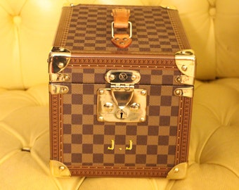Louis Vuitton Train Case in Checkers Canvas Special Edition