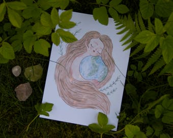 Mother Earth - Print