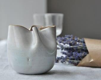 New White Vase