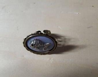 """""""Koi"""" print ring"""