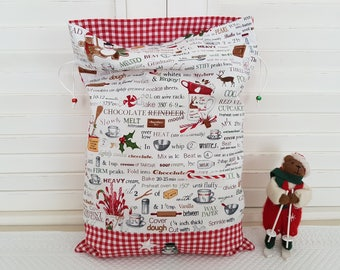 Gourmet Christmas with recipes on my pouch