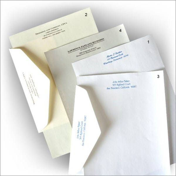 Personalized Papers Executive Stationery