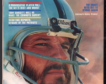 Vintage Magazine - Sports Illustrated : September 19, 1977 - Kenny Stabler