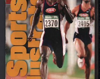 Vintage Magazine - Sports Illustrated : August 12 1996 - Michael Johnson