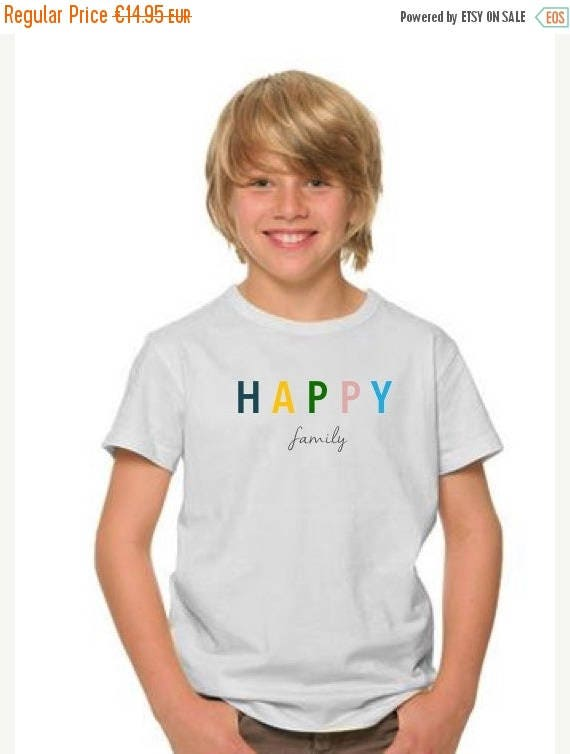 REBAJADO Boy t-shirt HAPPY FAMILY