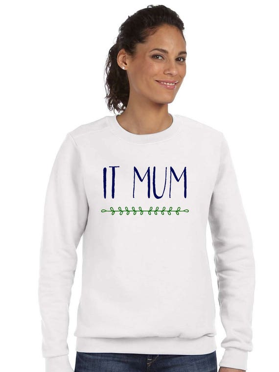Round neck women sweater IT MUM