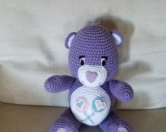 Crochet Share Bear Care Bear
