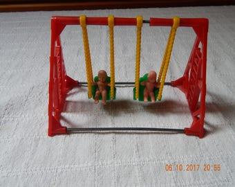 Miniature Swing Set
