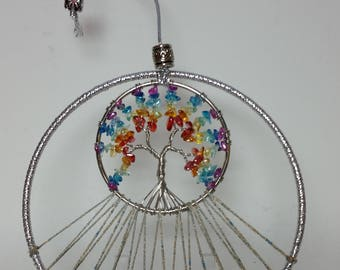 Tree of Life Dreamcatcher Mobile Made to order