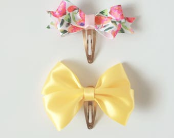 Summer Bow Clips