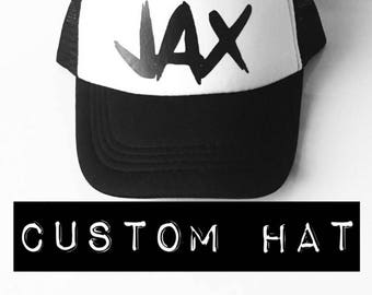 Personalized Toddler Trucker hat