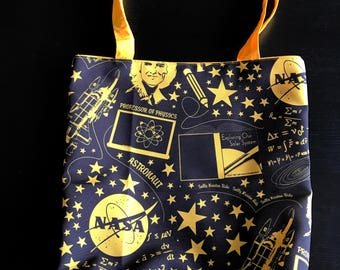 Sally Ride NASA Astronaut Tote Bag