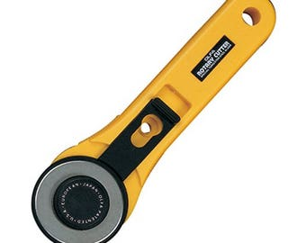 OLFA Rotary Cutter 45mm Original Rotary Cutter RTY-2/G  - Yellow