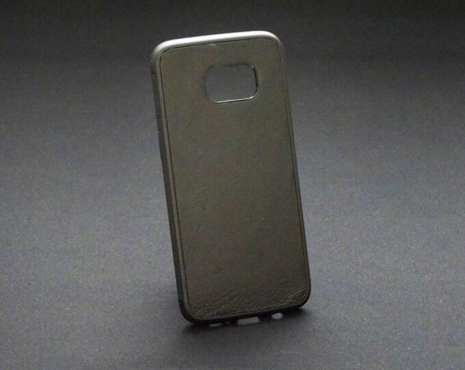 Samsung Galaxy S7 Edge - Jimmy Case in Black - Kangaroo leather - Handmade - James Watson