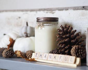 Campfire, Best Seller, Hand Poured, All Natural Soy, Mason Jar Candle, Fall Candle, Autumn, Gift